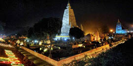 Buddhist pilgrimage tour from Delhi with Agra & Kolkata in India