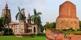 Sarnath-Bodhgaya Short Buddhist Trip from Delhi, India