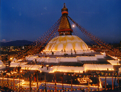 Bodhnath Buddhist Pilgrimages in Nepal